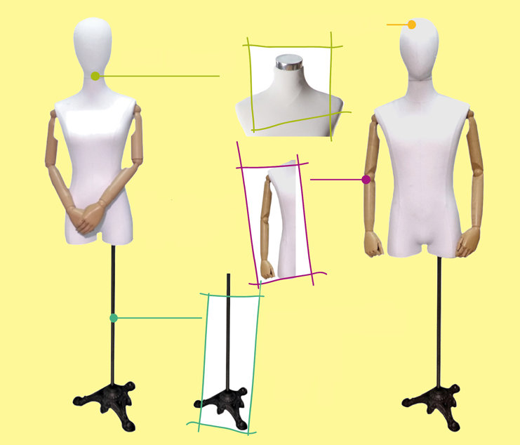 bendable jersey mannequins